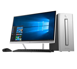 hp desktop models